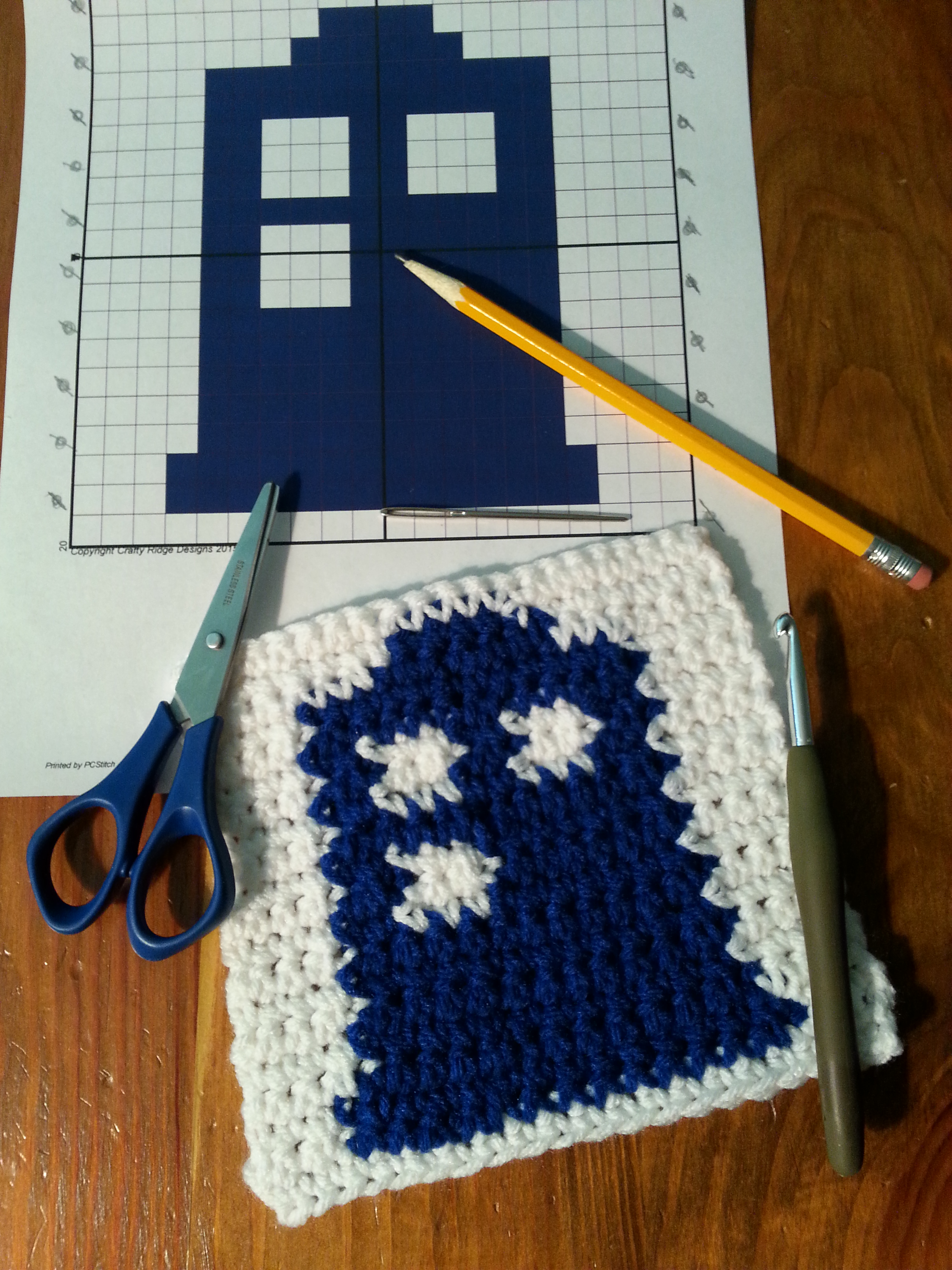 Crocheting From A Graph : Crocheting a graph can be easy as well as fun! Adding a graph to your ...