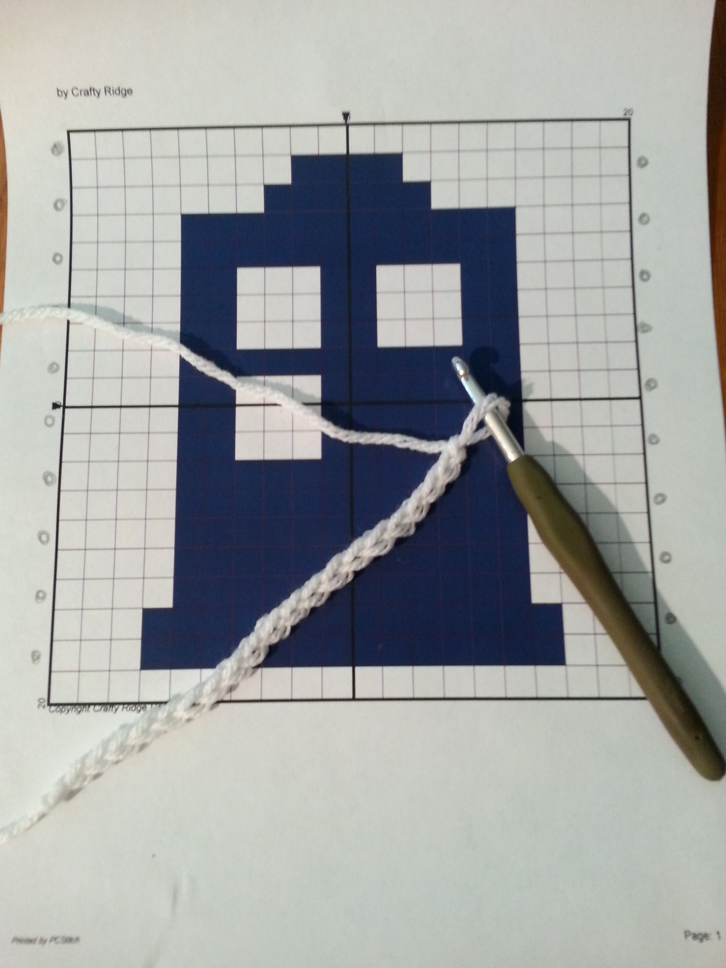 How To Crochet A Graph Crafty Ridge Designs