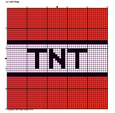 block graph template - my minecraft obsession it s tnt crafty ridge designs
