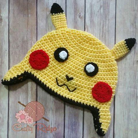 Pikachu Beanie Crafty Ridge Designs